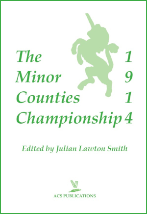 Minor Counties 1914