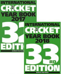 Sales package - ACS International Cricket Year Books 2017 & 2018