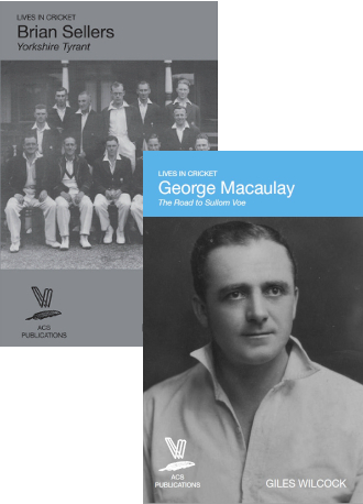Brian Sellers by Mark Rowe and George Macaulay by Giles Wilcock